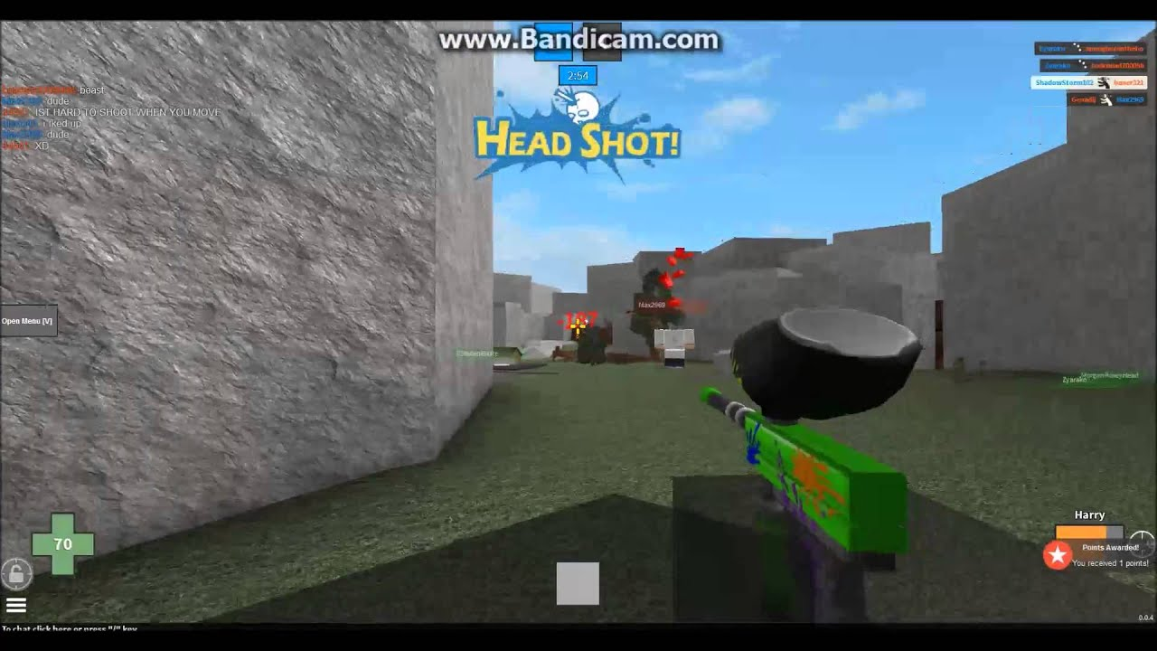 BeSt RoBlOx MaD pAiNtBaLl 2 SnIpEr (*Double Headshot ... |Mad Paintball Sniper