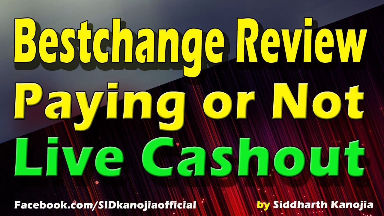 Bestchange Review - Live Cashout Test Paying or Not - YouTube