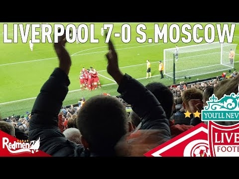 Liverpool v Spartak Moscow 7-0 | Story Of The Match