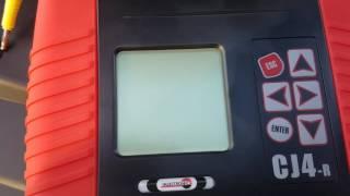 cj4 blank screen