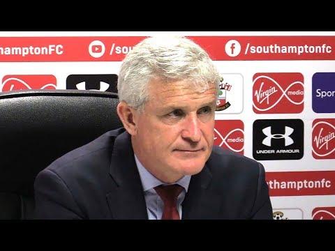 Southampton 0-1 Manchester City - Mark Hughes Full Post Match Press Conference - Premier League