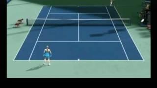 Wii   tennis   Topspin 3      Elena gioca uno strepitoso singolo . Verucchio