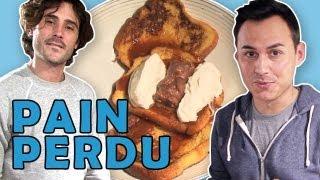 Recette Du Pain Perdu Par Hervé Cuisine Chez Vous.