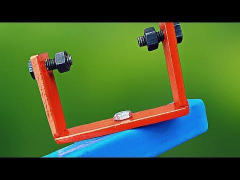 Make A HomeMade Angle Grinder Stand || Diy Tool Idea