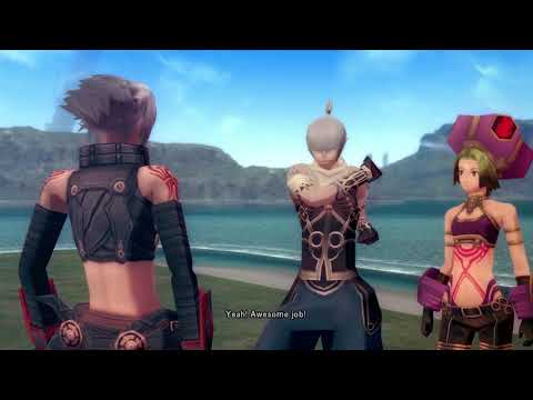 .hack//G.U. Last Recode (PS4 Pro, 1080p 60fps ENGLISH) - Overview gameplay