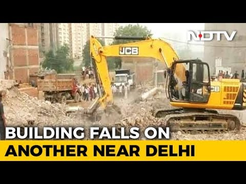 9 Dead In Greater Noida Building Collapse, Rescue Operations Continue