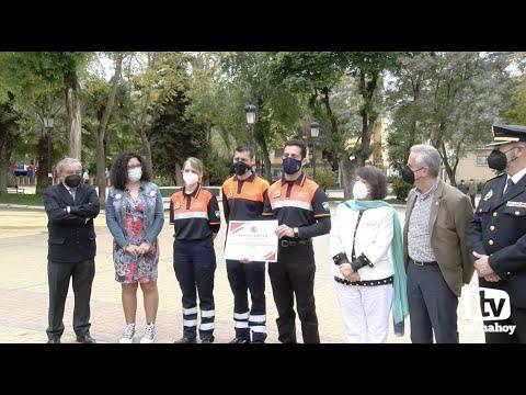 VÍDEO: La Subdelegación del Gobierno en Córdoba reconoce a la Policía Local y Protección Civil de Lucena por su labor durante la pandemia