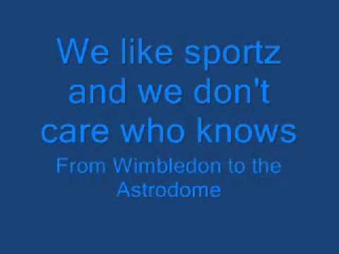 Lyrics:The Lonely Island - We Like Sportz