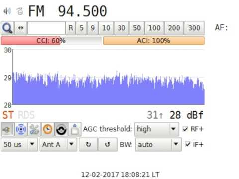 Test Radio Sofia @Kopitoto Sofia Bulgaria in Craiova RO