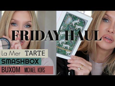 Friday Haul~ Smashbox & Michael Kors La Mer Tarte Buxom