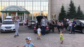Байна и Алан . Уличные танцы . Башкортостан . Стерлитамак.