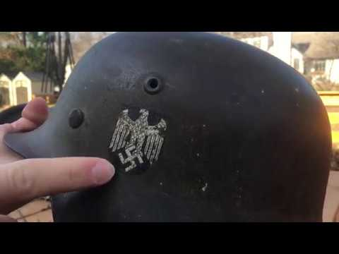 Different Types Of WW2 German Heer Helmets