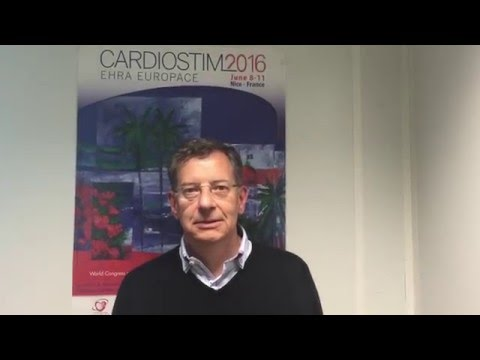 The chairman of CARDIOSTIM-EHRA EUROPACE 2016 has a message for you