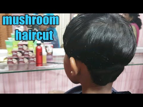 Mushroom Haircuteasy Baby Haircuthow To Make Mushroom Haircuteasy