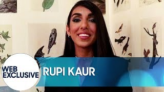 "Rupi Kaur Performs ""vacation"""