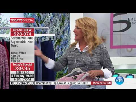 HSN | SERENA WILLIAMS Signature Statement Fashions 03.01.2017 - 01 AM