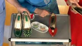 Как обновить старые туфли. Советы телезрителей