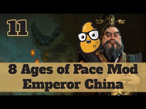 Civ 6 Modded China Ep. 11 - Let's Play Civ 6 Qin Shi Huang in the 8 Ages of Pace mod!