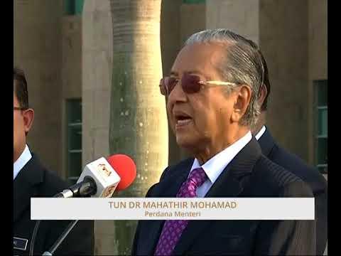 Amanat pertama Tun Dr Mahathir kepada warga JPM