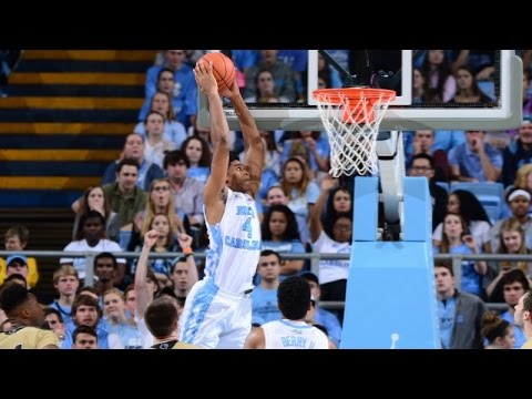 UNC Men's Basketball: Heels Pull Away from Wofford 78-58