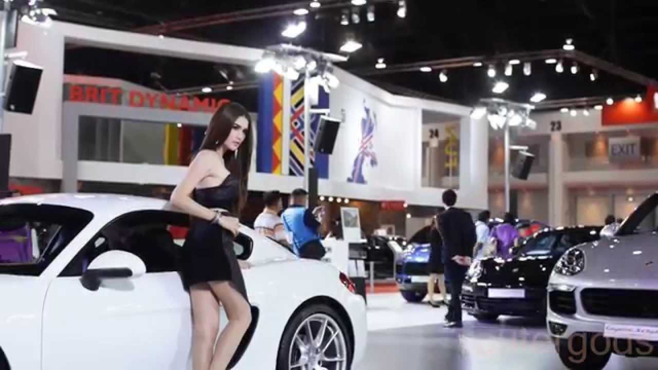 bangkok motor show 2015 porsche models youtube. Black Bedroom Furniture Sets. Home Design Ideas
