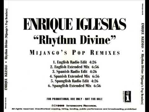 Enrique Iglesias - Rhythm Divine (Mijango's English Extended Mix)