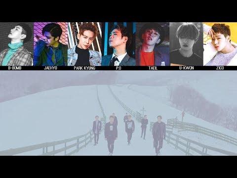 Block B - A Few Years Later (몇 년 후에) MV + Lyrics Color Coded HanRomEng