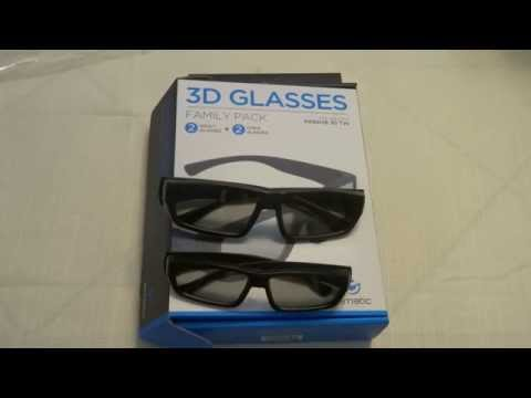 3D Passive Glasses from ematic
