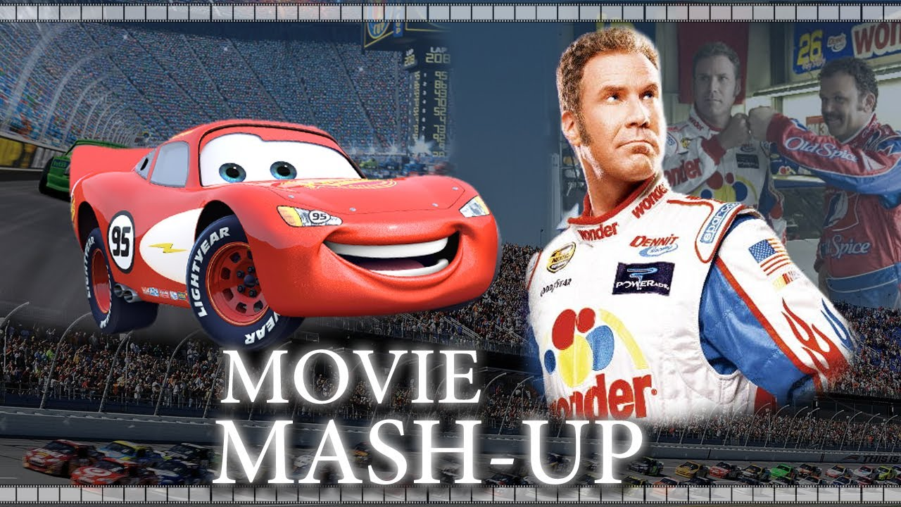 talladega nights cars trailer mash up re cut youtube. Black Bedroom Furniture Sets. Home Design Ideas