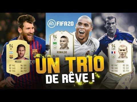 FIFA 20 - UN TRIO DE RÊVE !