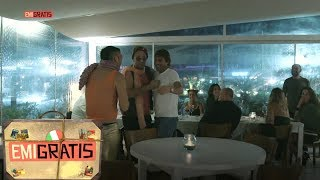 Emigratis 3 - Pio e Amedeo si fanno pagare la cena da Antonio Conte