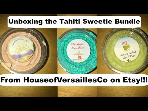 Unboxing Slime from House of Versailles on Etsy!