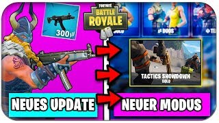 NEW UPDATE 😱 PATCH NOTES 📓 NEW MODE | Fortnite Season 5 German