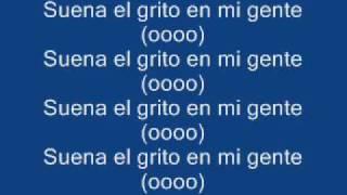 Daddy Yankee - Grito mundial (Letra)
