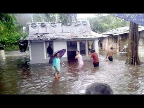 Detik detik datangnya Banjir gunung slamet ,akibat PLTPB baturaden ,