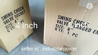 Check valve klep tabok PVC pem…