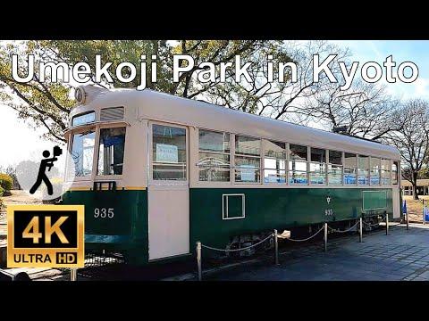 Umekoji Park, Kyoto Walking View (4k Ultra HD 60 fps)