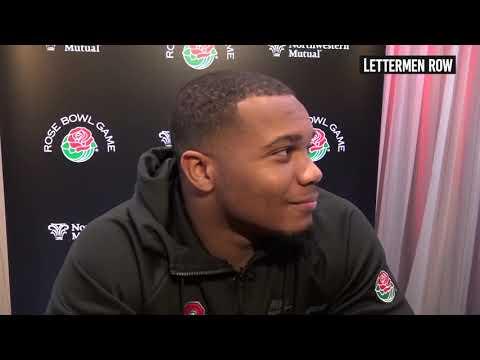 J.K. Dobbins: Ohio State running back talks Urban Meyer's final game, Rose Bowl