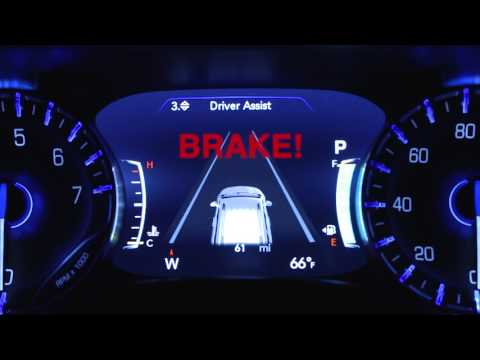 Forward Collision Warning-Collision avoidance systems on 2018 Chrysler Pacifica