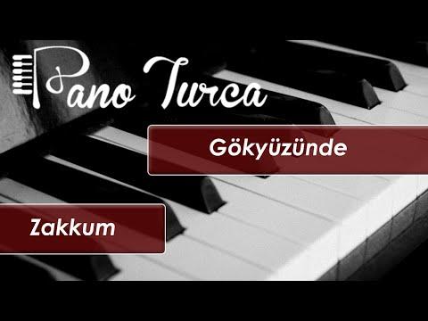 Zakkum Gökyüzünde Cover - Piyano