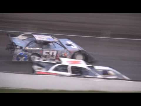 URBANA 5 Memorial Late Model feature Benton County Speedway 6/11/17