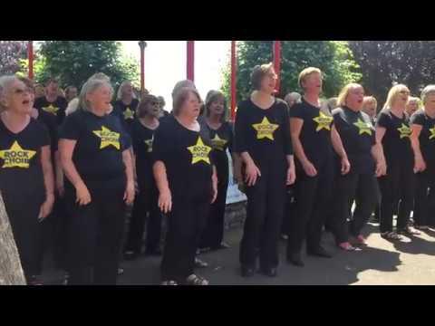 Rock Choir Dorchester July 2018 More Than A Feeling