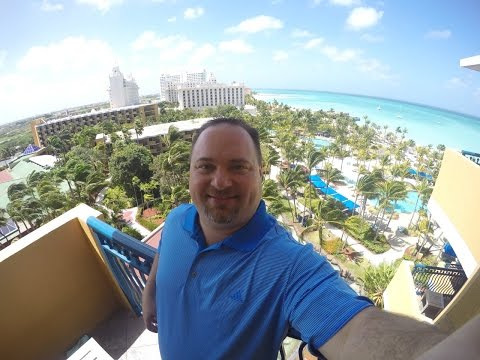 Hilton Aruba Caribbean Resort & Casino - First GoPro Video(s