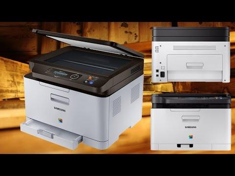 samsung c480w laserdrucker unboxing techcheck youtube. Black Bedroom Furniture Sets. Home Design Ideas