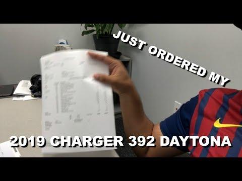 Ordered the 2019 Dodge Charger 392 Daytona!!