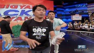 Wowowin: Isang studio audience, nagpamalas ng card magic trick