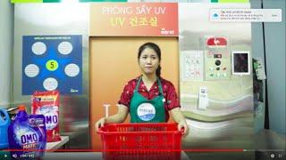 Quy Trình Sấy Quần Áo Bằng Tia UV Khử Khuẩn tại cửa hàng Giặt Ký
