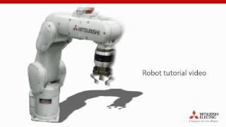 Robot Melfa programming – Lesson 4.3. The first program