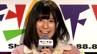 2017年1月26日放送 アシスタントMC:荒井優希 (SKE48 Team KⅡ) ※尚FR...