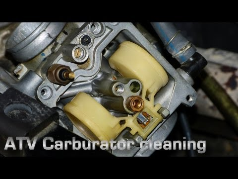 ATV Carburetor Cleaning